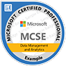 MCSE Data Management and Analytics